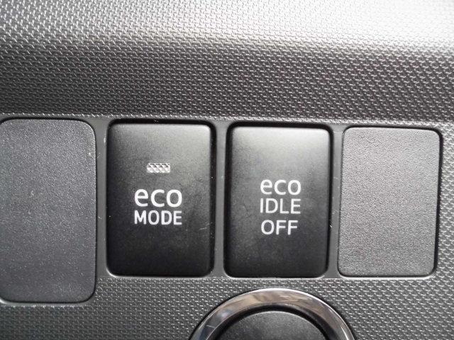 エコアイドルが付いてますが、不要の時はOFFスイッチで解除できます♪
