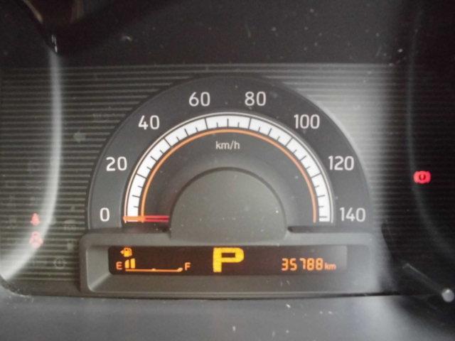 大きくて視認性もよく、燃費計等も付いてるメーターです♪