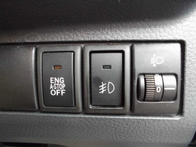アイドリングストップ付いてますが、不要の時はOFFスイッチで解除できます♪