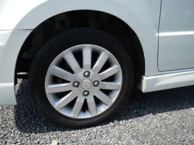 純正14AW・タイヤの溝は十分あります