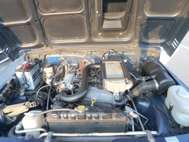 エンジン分解整備済み、リビルトターボ交換済み