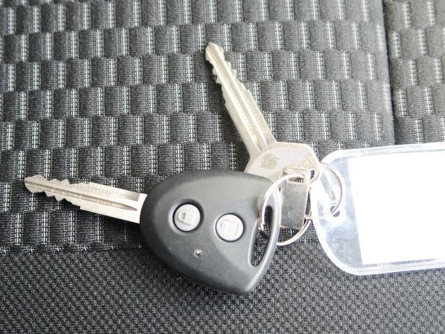 キーレスですので鍵の開け閉めが楽々♪スムーズに乗り降りできます!