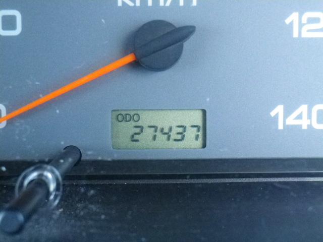 走行27500km・車検有・コラムオートマ・両エアバック・ABS・CD・取説保証書付