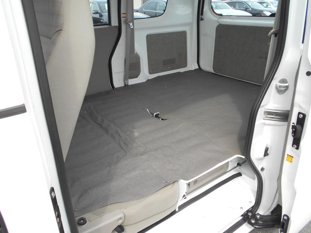 荷台スペースもこのように広い!!