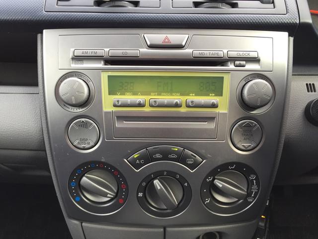 操作しやすいエアコンです◎ オーディオは純正CDラジオとなります。
