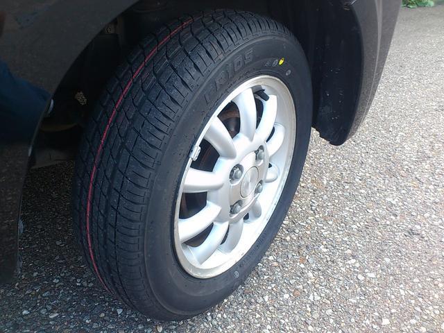 タイヤはファイヤストーン社製の新品を装着!!ファイアーストーンはブリジストンのサブブランドです!!