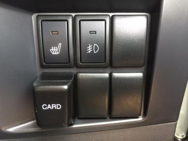 運転席にはシートヒーターがついております!!雪国の北陸では欲しいアイテムの一つです!!
