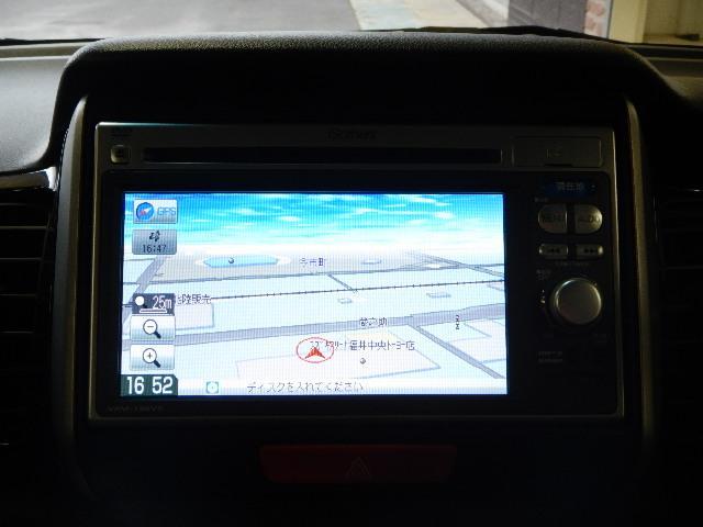 純正メモリーナビ&フルセグTV&DVD再生可&バックモニター装備です☆遠出も安心してドライブが楽しめます♪