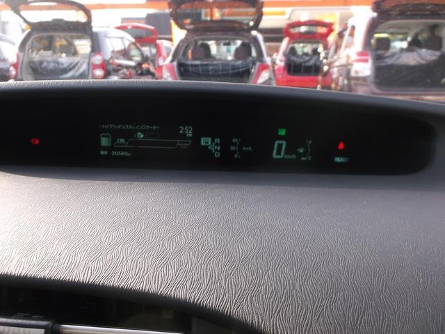 マルチインフォメーションディスプレイ付で、車の情報がひと目でチェック出来ます
