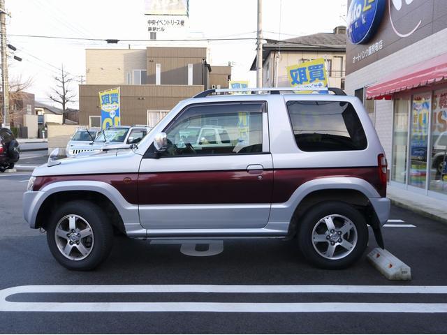 三菱 パジェロミニ エクシード 4WD CDデッキ 純正AW
