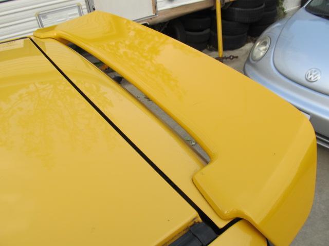 リアスポイラー後期仕様!全面塗装にてピカピカに仕上げました!もちろん色あせありません!