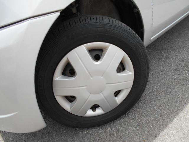 タイヤまだまだ山あります!