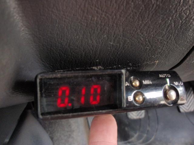 ターボ車の必須アイテムのターボタイマーを装着!!ドライブなどの走行後タービンに負担をかけないためのアイテムです