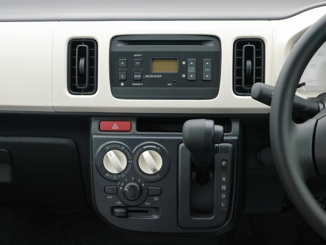 スズキ アルト L 届出済未使用車 純正CDデッキ ABS