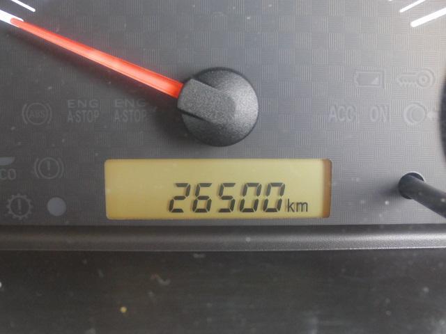 走行距離26,500km