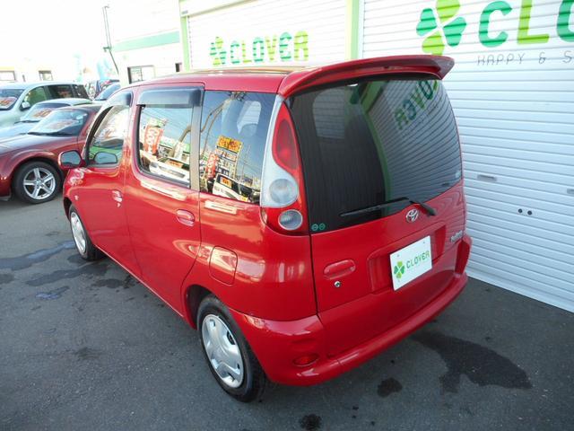 トヨタ ファンカーゴ X リミテッド ペアベンチパッケージ CD キーレス ETC