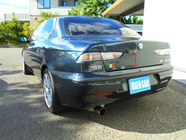 アルファロメオ アルファ156 2.5 V6 24V Qシステム 左H