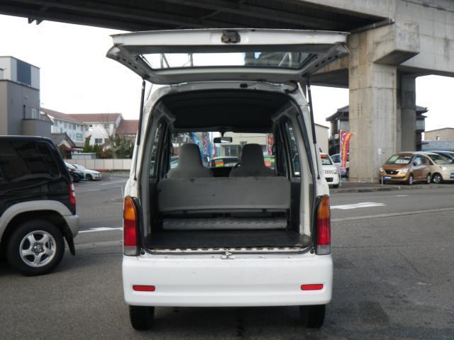 ダイハツ ハイゼットカーゴ 切替4WD 5速MT タイベル交換済 両側スライドドア