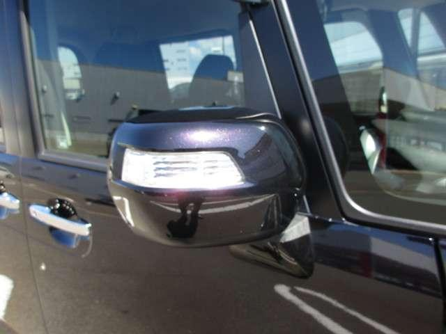 ドアミラーウィンカーは、歩行者からも視認性が良い安全装備です。