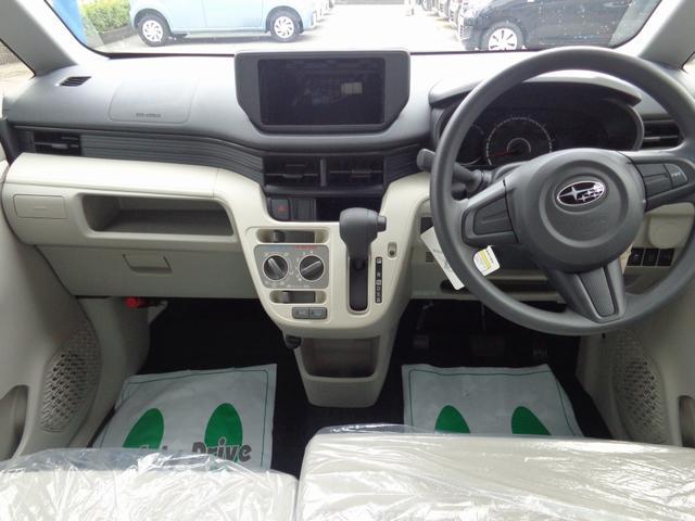 スバル ステラ L 届出済未使用車 オーディオレス ヒルホールドシステム