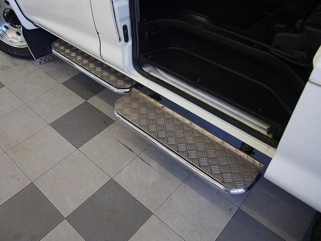 三菱 デリカスペースギア アクティブフィールドED4WD SDナビ 外マフラー 地デジ