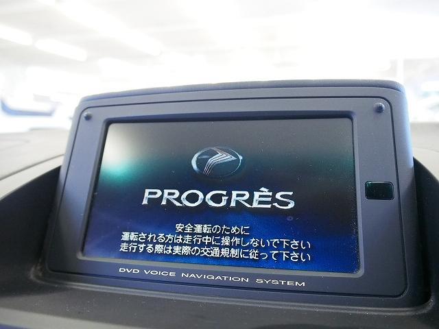 トヨタ プログレ NC250 本革 純正DVDナビ シートヒーター Bモニター