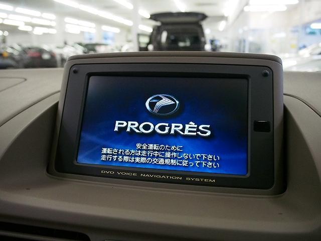 トヨタ プログレ NC250 純正DVDナビ クルーズコントロール Bモニター