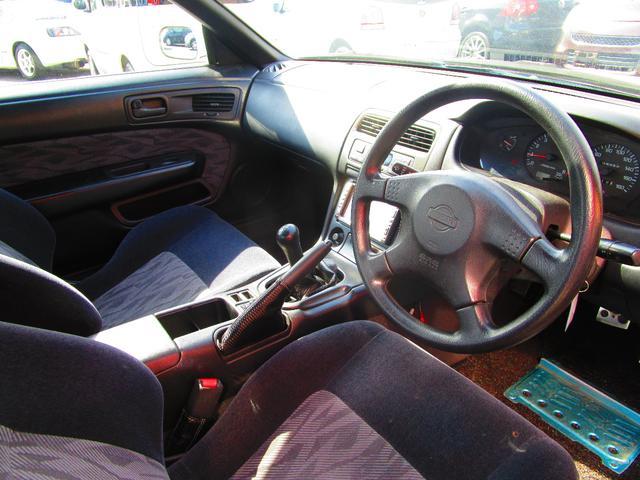日産 シルビア Q's フルエアロ APEXiマフラー タイミングチェーン車