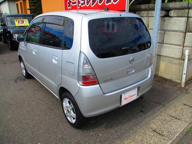 日産 モコ Q タイミングチェーン車 アルミホイール ABS