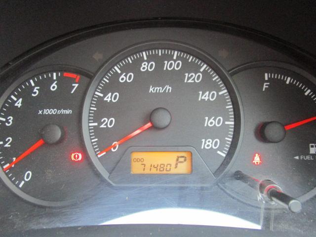 走行71,480km!