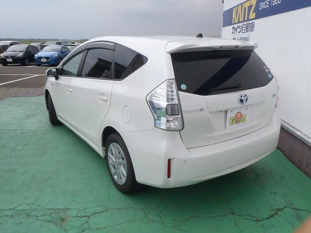 トヨタ プリウスアルファ G HDDナビ スマートキー