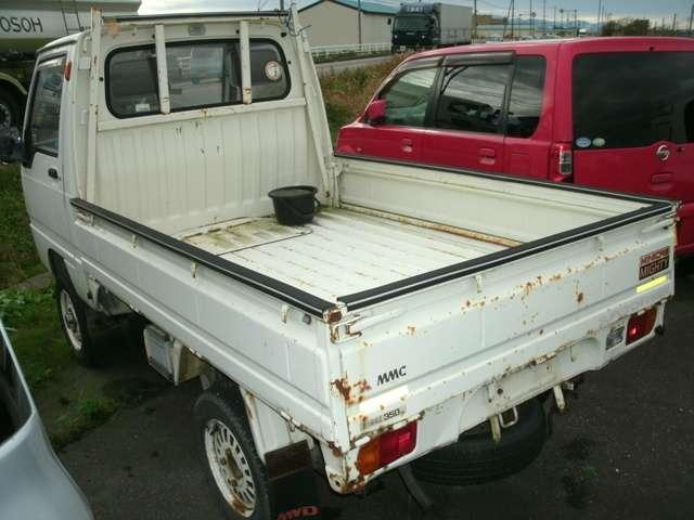 三菱 ミニキャブトラック スーパーチャージャー 4WD