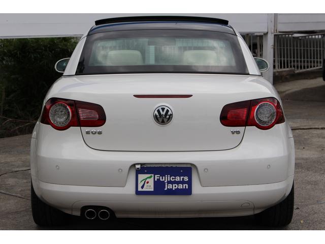 フォルクスワーゲン VW イオス V6 本革 サンルーフ HDDナビ 地デジ シートヒーター
