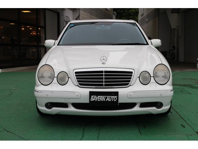 メルセデスベンツ AMG E55 サンルーフ 黒革シート 自社新車輸入車