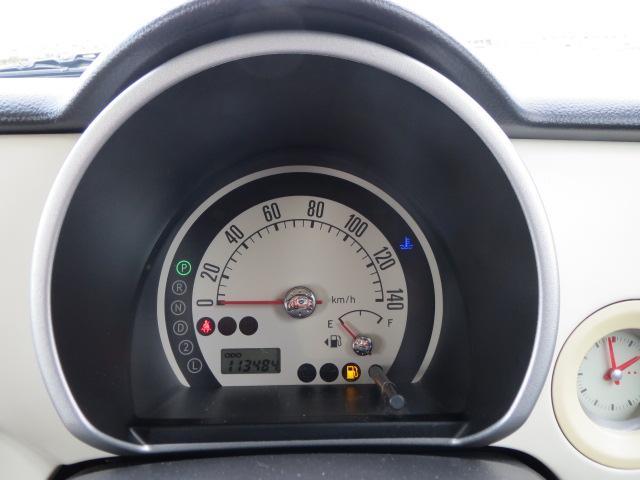 スピードメーターは白をバックにしてとても見やすくなっています♪