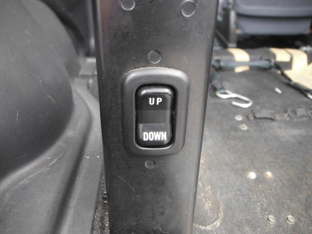 リア油圧サス!スイッチで高さを上下に変動出来ます。
