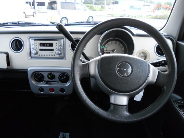 コラムATで車内広々です。