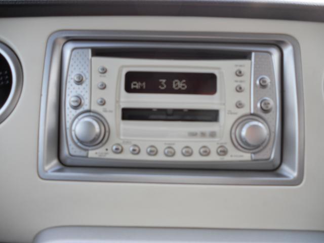 純正CD・MDステレオ装備です。