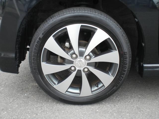 純正15インチAW(タイヤ4本とも車検整備時に新品に交換致します)