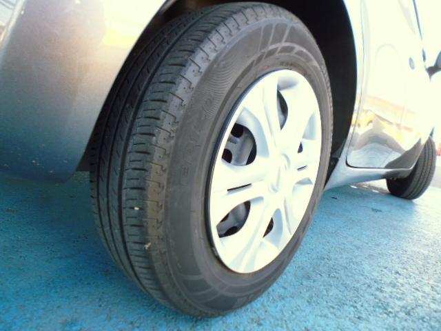 リヤタイヤの残り溝です、ご確認下さい。