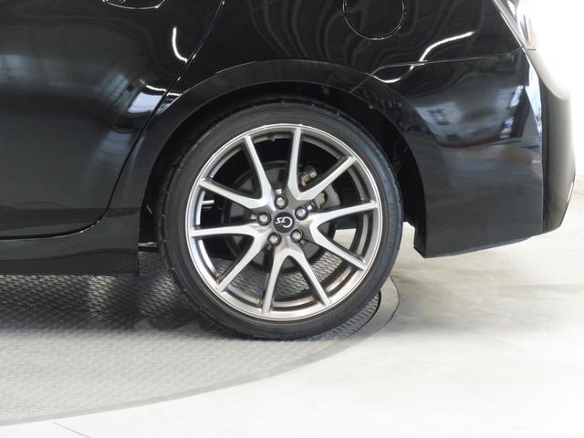 G's専用18インチアルミホイール。タイヤサイズは215/40/18です!!