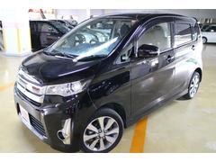 沖縄の中古車 三菱 eKカスタム 車両価格 99.8万円 リ済別 平成26年 3.0万K ブラック