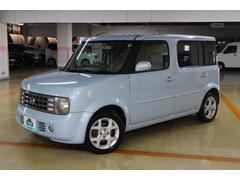 沖縄の中古車 日産 キューブキュービック 車両価格 29.8万円 リ済別 平成16年 7.8万K ライトブルー