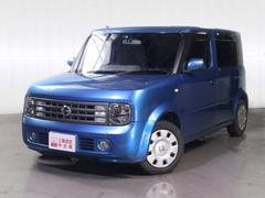 沖縄の中古車 日産 キューブキュービック 車両価格 35万円 リ済別 平成17年 8.8万K ブルー