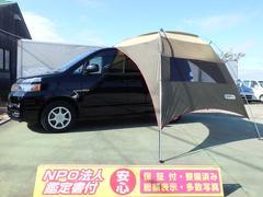 ヴォクシートランス−X 4WD HDDナビ 5人乗り4Noバン登録可