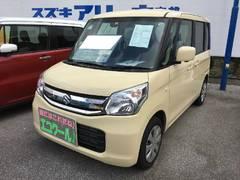 沖縄の中古車 スズキ スペーシア 車両価格 132万円 リ済別 平成28年 0.2万K ライトイエロー