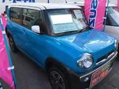 沖縄の中古車 スズキ ハスラー 車両価格 126万円 リ済別 平成28年 0.5万K ブルーII