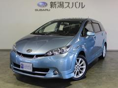 新潟県の中古車ならウィッシュ 2.0Z トヨタ純正HDDナビ バックカメラ