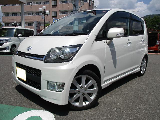 4WD/CVT/ターボ!状態・外装共に良好なムーヴ!4WD ターボ インパネCVT CDオーディオ オートエアコン