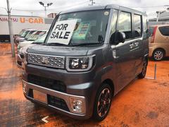 ウェイクG SAII ターボ 4WD 両側電動スライドドア 純正ナビ